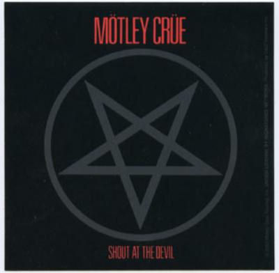 SIMBOLOS SATANICOS,simbolo satanico,pentágrama,pentagrama,el pentagrama,pentagrama invertido,pentagrama esoterico,Glam metal Motley Crüe,Glam metal Motley Crüe album,Shout at the Devil,Shout at the Devil album